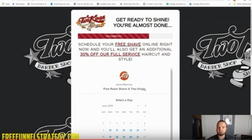 Free Funnel Strategy – Barbershop and Shave Parlor Funnel
