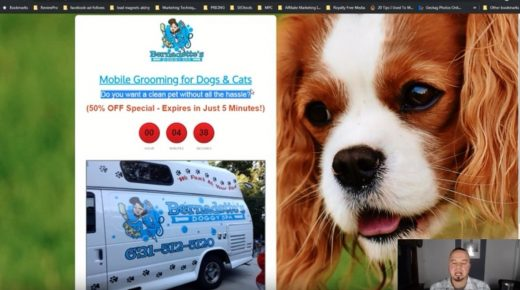 Free Funnel Strategy – Mobile Dog Grooming Funnel
