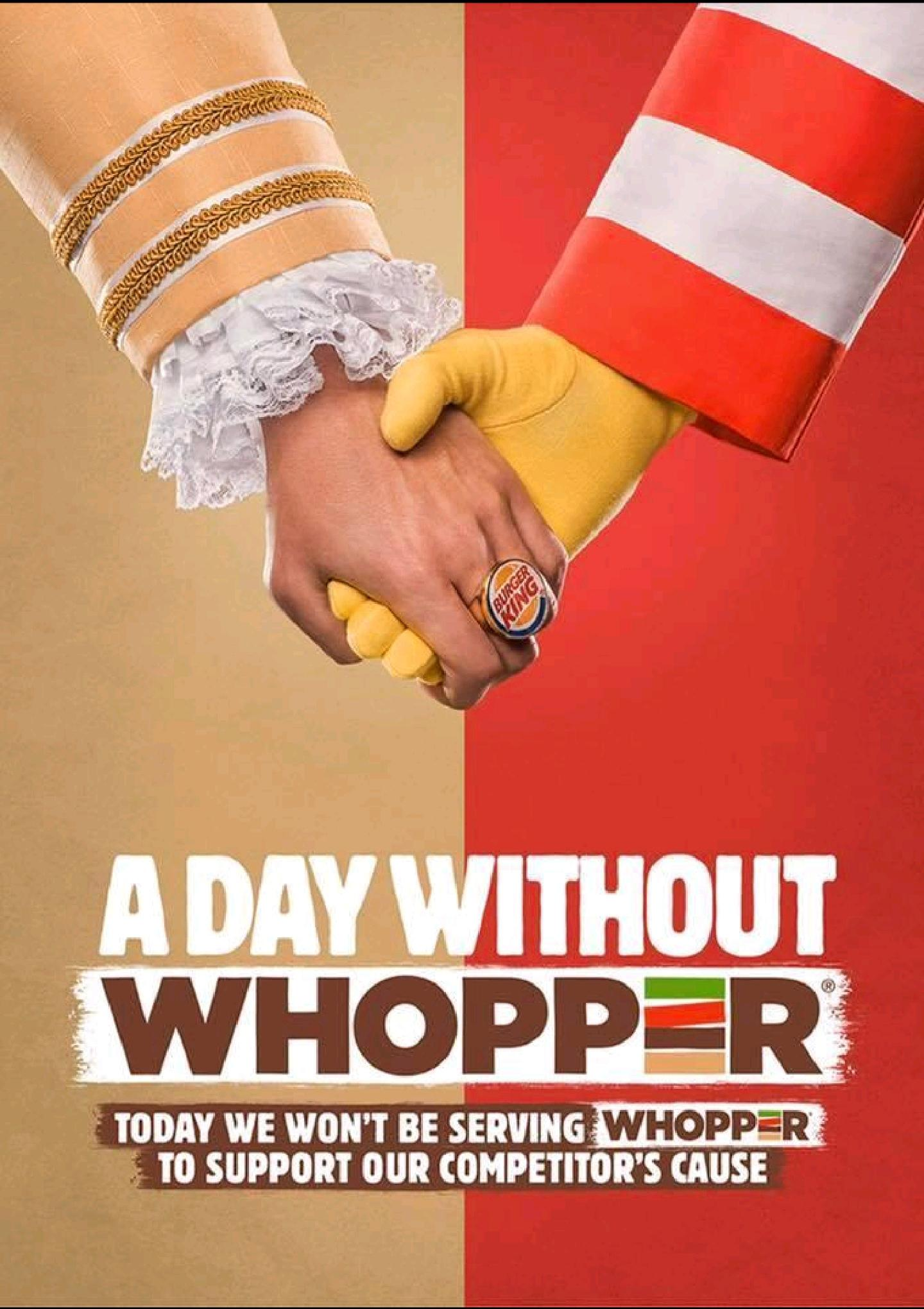 A Day Without Whopper Ad