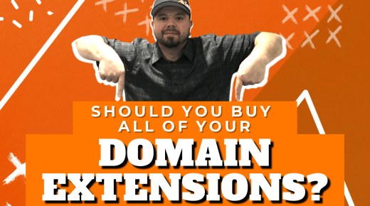 Should You Buy All of Your Domain Name Extensions?